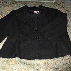 Peplum waisted short jacket